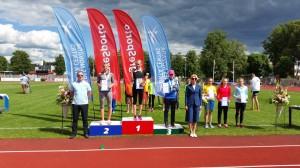 Latvijas Jaunatnes Olimpiādē.