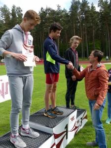 Jūrmalas Sporta skolas jauno vieglatlētu starti